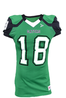 4061LZ Edge Football Jersey - Stunt Concept - Green