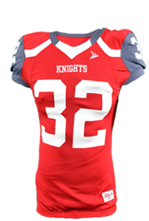 4061LZ Edge Football Jersey - Stunt Concept - Red