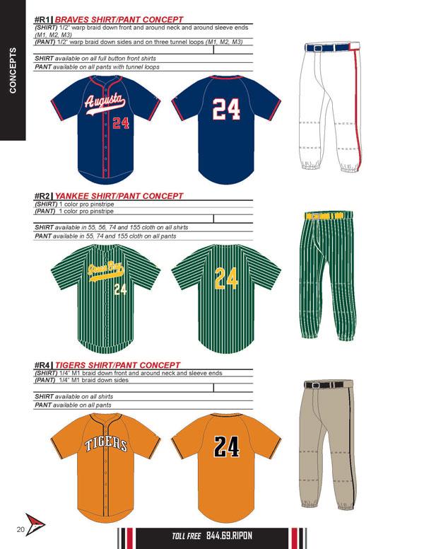 Ripon Athletic : Baseball