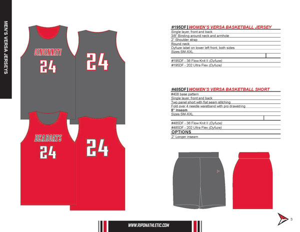 2019 Ripon Athletic Basketball Flyer