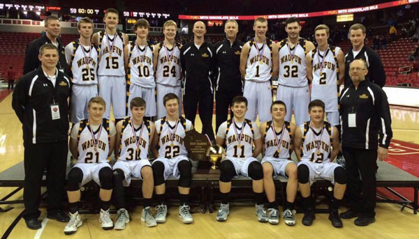 2016 Waupun High School Basketball