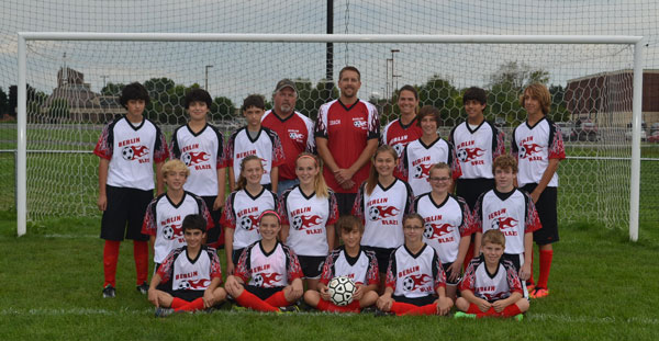 Berlin Blaze Soccer Team 2014