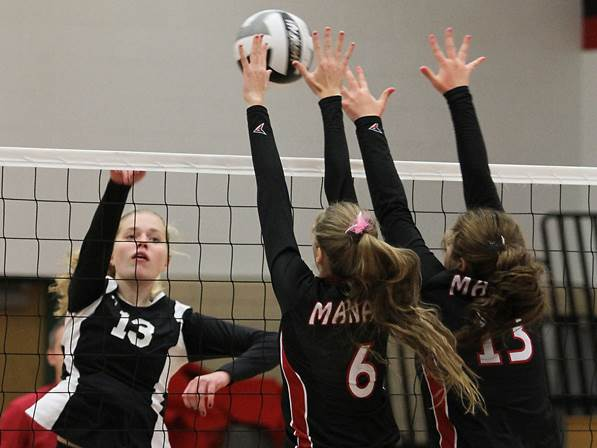 Manawa High School Volleyball - 2014