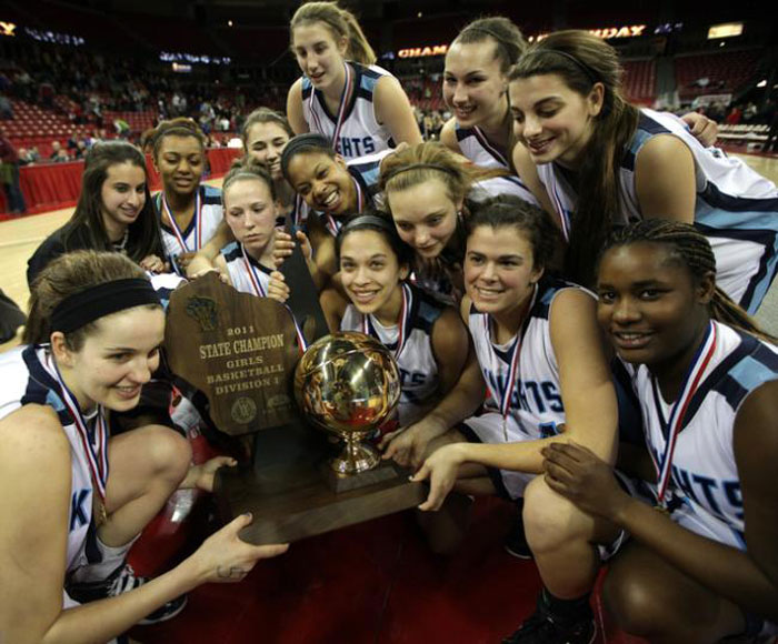Nicolet High School Girls Basketball Team