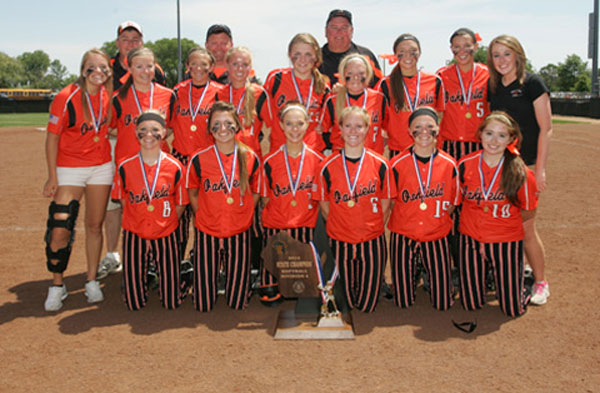 Oakfield High School-Runner Up Division-4