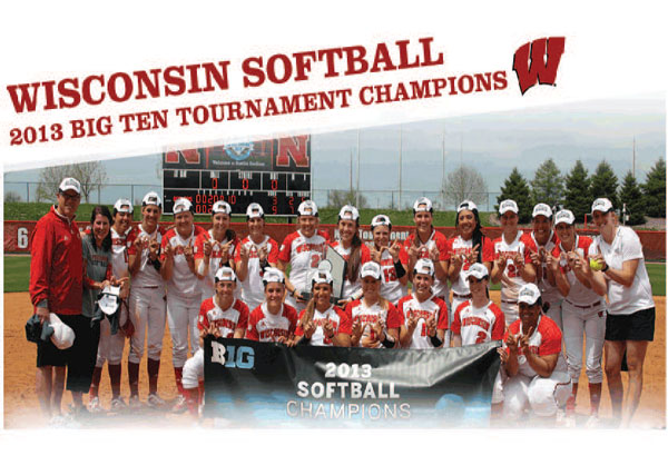 UW Badger Softball Team 2013