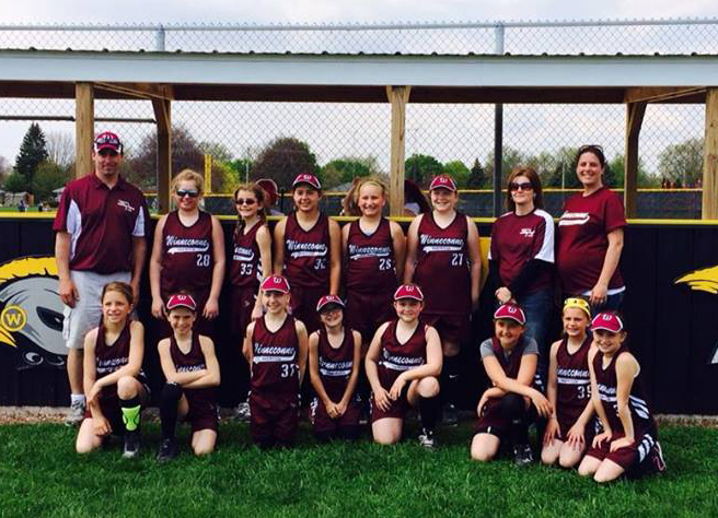 Winneconne Girls 10U Tournament Team 2014