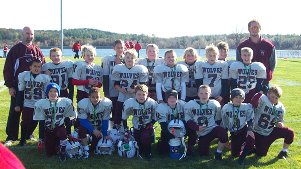 Winneconne Pop Warner Football Team-2011