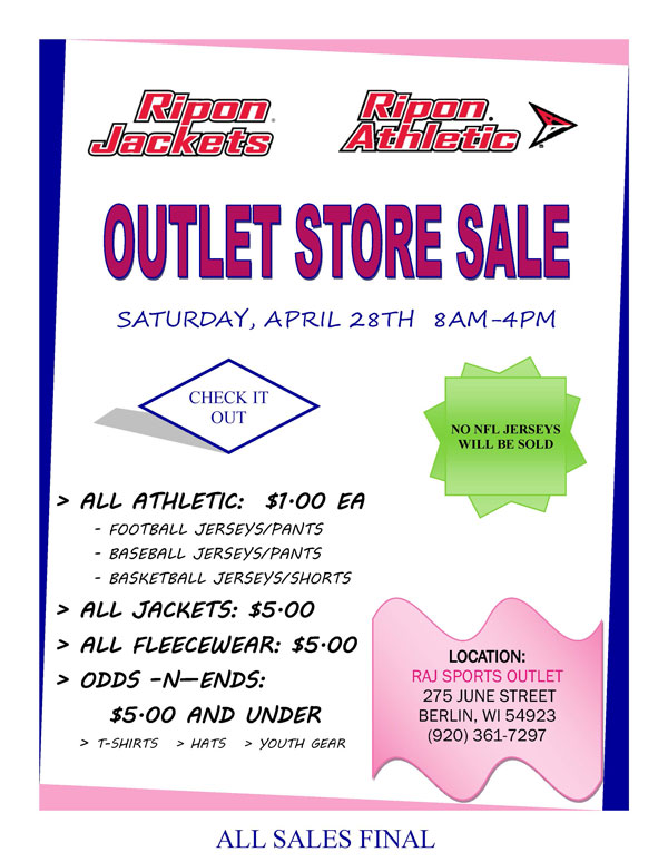 Outlet Store Sale